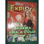 Revista Disney Explora 23 Tapa Shakira - Falta Pg Central