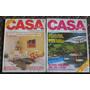 2 Revistas Casa Claudia Brasil 90/91. Pompeya O V Crespo