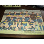 Lamina De Boca Juniors Campeon 1962