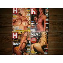 Lote Er1 Cuatro Revistas Hombre Maxim C Fernandez B Francese