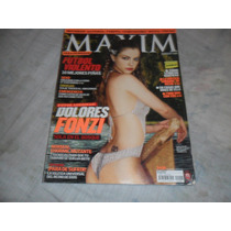 Revista Maxim Dolores Fonzi