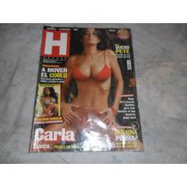 Revista Hombre Carla Conte