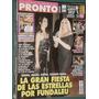 Revista Pronto 483 Maradona Chespirito Chavo Bolocco Marley