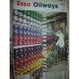Revista Antigua Naftas Esso Oilways 3/55 Nylon Hilos