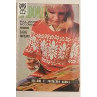 Labores Antigua Revista Bordado Moda Tejido 1973 Num 7