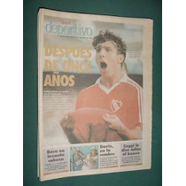 Clarin Deportivo -19/9/94- Independiente Vence Racing