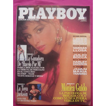Revista Playboy N° 77 1992 - Toya Jackson - Monica Guido