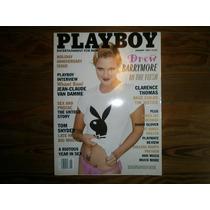 Revista Playboy Americana January 1995 Drew Barrymore Hombre