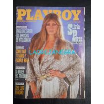 Silvia Pérez - Playboy Ed. Argentina 07/1987
