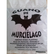 Guano De Murcielago 250 Gr - Fert Floracion - Mar Verde Grow