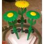 Aspesor Estaca En Forma De Flor Decorativa