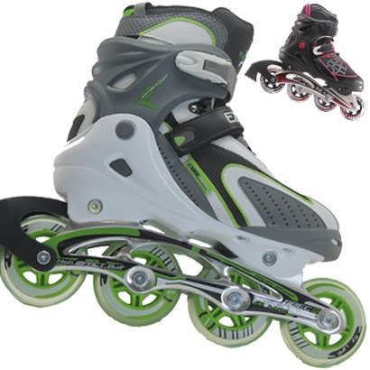 Rollers Patines Base Aluminio Action Abec7 Abec5 Profesional