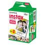 Rollos Instax Fuji Film X 20 Fotos