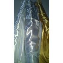 Raso Importado Primera Calidad!!color Plata,dorado Y Blanco!