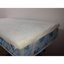 Pillow Top Viscolastico De 4cm Espesor. Desmontable 200x200