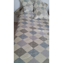 Arredo-acolchado+cubrecama 1,74m X 2,44m +2 Fundones 70x50cm