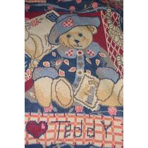 Manta Importada Bebe Niño Con Motivos Oso Teddy