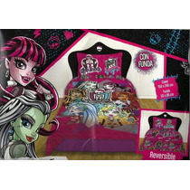 Cover Quilt Disney+ Funda+ J Sabanas + Toallon Monster High