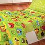 Sabanas Infantiles Angry Birds - Ben10 Y Mas - 1 1/2 Pl *
