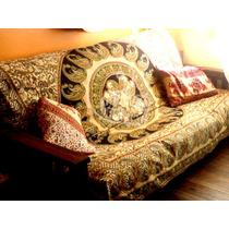 Cubrecama Hindu 2 Plazas + 2 Fundas De Almohadones Hindues