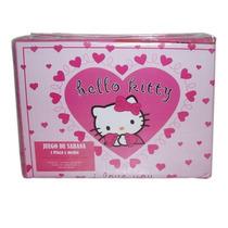 Juegos De Sabanas Infantiles 1 1/2 - Hello Kitty