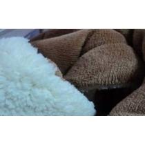 Frazadas Microfibra Liso/ Corderito 1 Pl 150 X 200 Cm