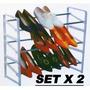 Estante Organizador De Zapatos Apilables Set X2 En Belgrano