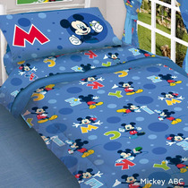 Acolchado Infantil Piñata Mickey Cars Jake Minnie Kitty