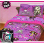 Acolchado Disney + Juego D Sabanas Monster High 1280 $