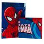 Juego De Sábanas + Toallón Spiderman Piñata