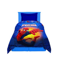 Acolchado Infantil 1 1/2 Plaza Reversible Spiderman