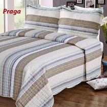 Cubrecama Quilt Reversible Con Fundas King Size 280 X 250 Cm