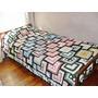 Manta Crochet Multicolor (1 Plaza)