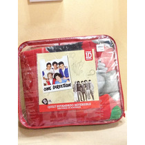 Acolchado One Direction,matelaseado, Reversible Original