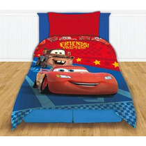 Acolchado Premium Cars 1 1/2 Plaza Piñata Disney