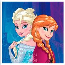 Toalla De Mano Frozen Anna Elsa Disney Original Piñata