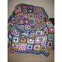 Manta Artesanal - Tejida A Crochet