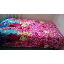 Frazadas Plush Polar Para Nena Frozen Y Barbie(princesa) !!!