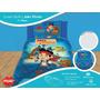 Cover Quilt Reversible+funda Infantil Piñata Jake El Pirata