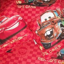 Juegos De Sabanas Infantiles 1 1/2 - Cars - Rayo Mc Queen