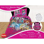 Juego De Sabanas Mas Cover Monster High 1 1/2 Plazas Piñata