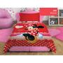 Acolchado Premium Minnie Mouse Disney Original Piñata