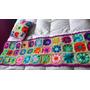 Pie De Cama Artesanal Al Crochet. Mas Funda Almohadon.