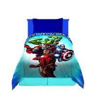 Acolchado Infantil 1 1/2 Plaza Reversible Avengers Marvel