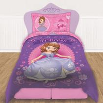 Acolchado Quilt Hermosoo!! Princesita Sofia Doble Faz !!