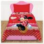 Acolchado Premium Minnie Mouse 1 Y 1/2 Plaza Piñata Disney