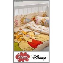 Juego De Sabanas Disney Piñata Original Cuna