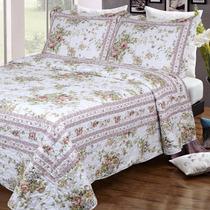 Cubrecama Quilt Cover Estampado King Size 280 X 250 Cm