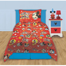 Sabanas Infantiles Mickey Mouse Original Disney Piñata