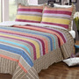 Cubrecama Quilt Estampado Con Corderito 1 1/2 Plazas Bs As